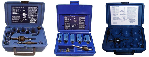 Blu Mol Bi Metal Hole Saw Kits