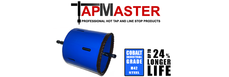 PipeManProducts.com TapMaster Double Stack Xtra Deep Bi Metal Hole Saw