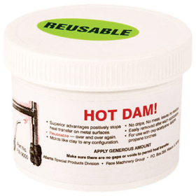 Hot Dam Reusable Heat Stopping Compound (12oz. Tub)