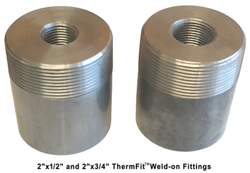Thermfit Carbon Steel Live Weld On Thermowell Fittings