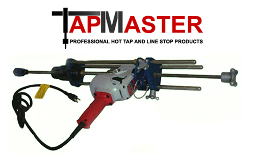 PipeManProducts.com TapMaster TM-1 Pro Hot Tap Machine
