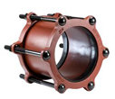 JCM 201 Steel Couplings for Steel and PVC Pipe Sizes