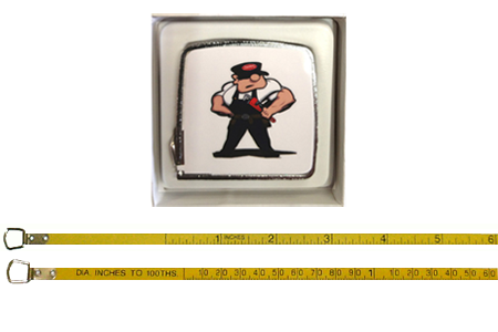 "PipeMan 36"" O.D. Tape Measure in Gift box"