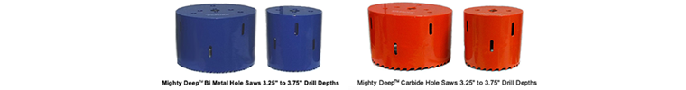 mighty deep hole saws - pipemanproducts.com