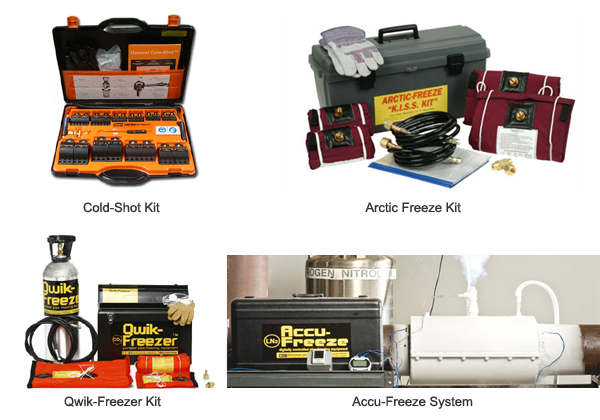 pipe freeze kits