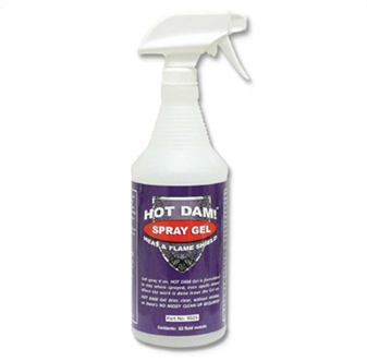 Hot Dam Heat Stopping Gel Spray (32oz. Spray Bottle)