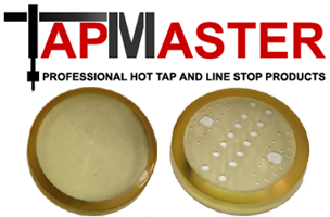 PipeManProducts.com TapMaster Leading Edge and Split-Cup Sealing Elements for Line Stops