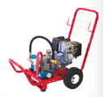 Wheeler Rex Gas Powered Hydrostatic Pump
