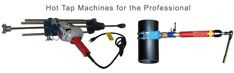PipeMan Products, Inc. Offers Hot Tap Machines for the Professional